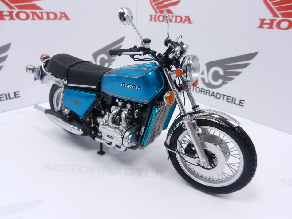 honda gl1000 goldwing 1975 blau modell 1 12 minich ac. Black Bedroom Furniture Sets. Home Design Ideas
