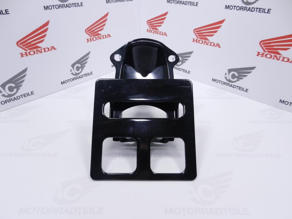 Honda CB 200B 250G 400F Kennzeichenhalter Schwarz - AC Motorradteile