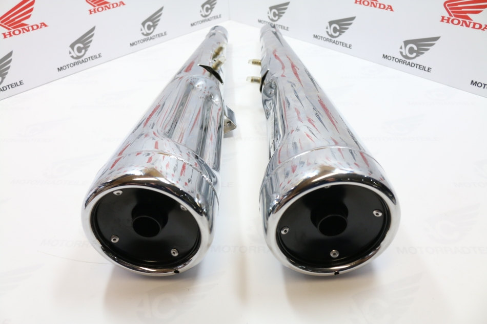 Honda Cx500 For Sale >> Honda CX 500 Auspuff Endtopf Set Re Replica/Reprod - AC ...